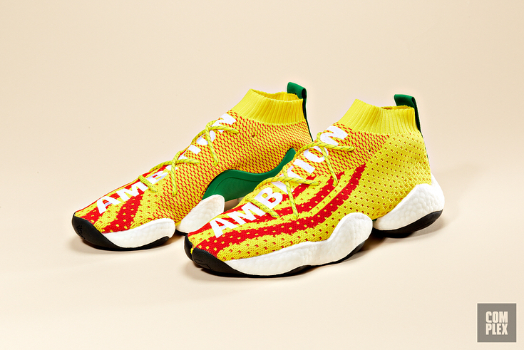 Surgem Fotos Detalhadas Do Crazy BYW Assinado Por Pharrell Williams Vendido No 747 Warehouse