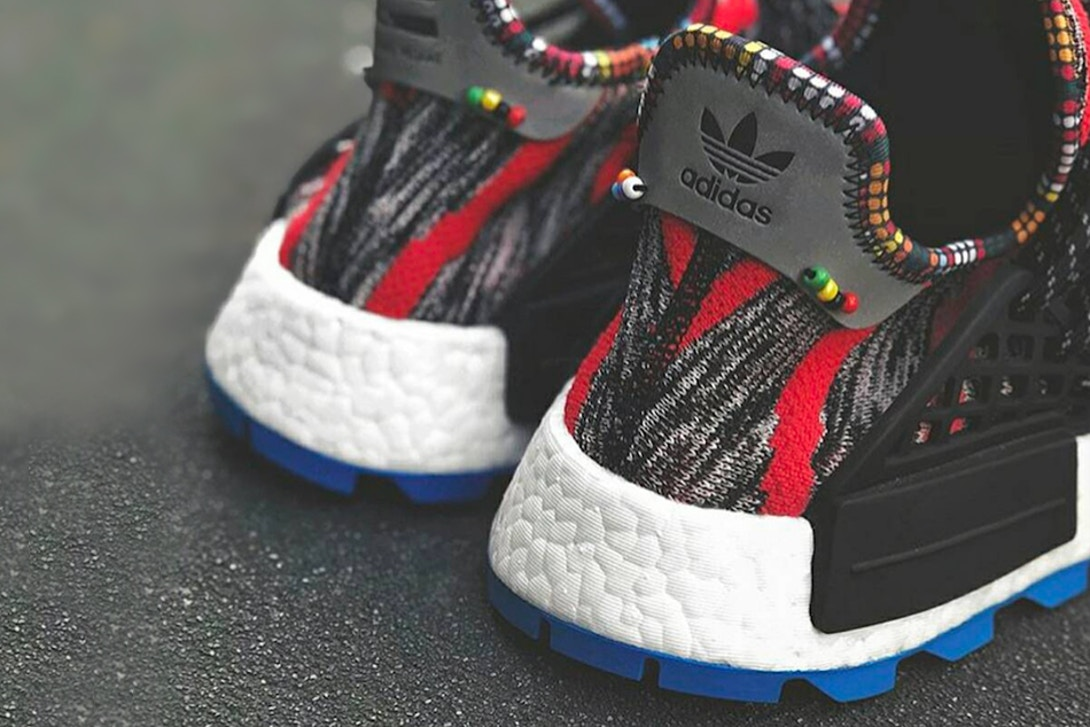 pharrell williams adidas originals hu nmd afro pack another