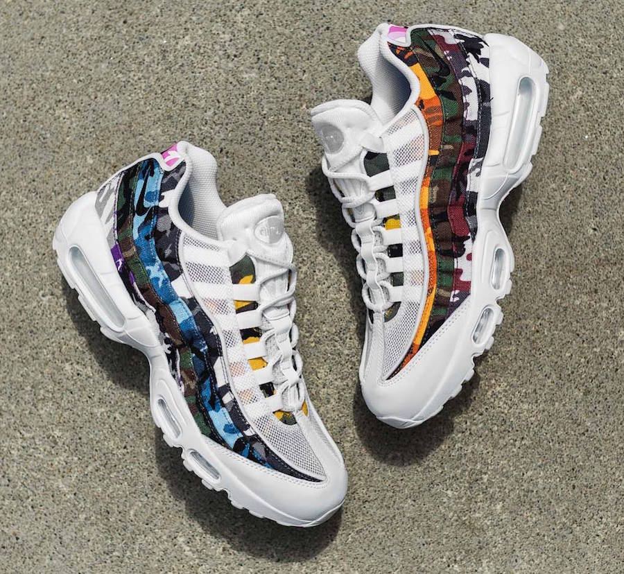 AIR MAX 95 ERDL PARTY (WHITE) UNBOXING