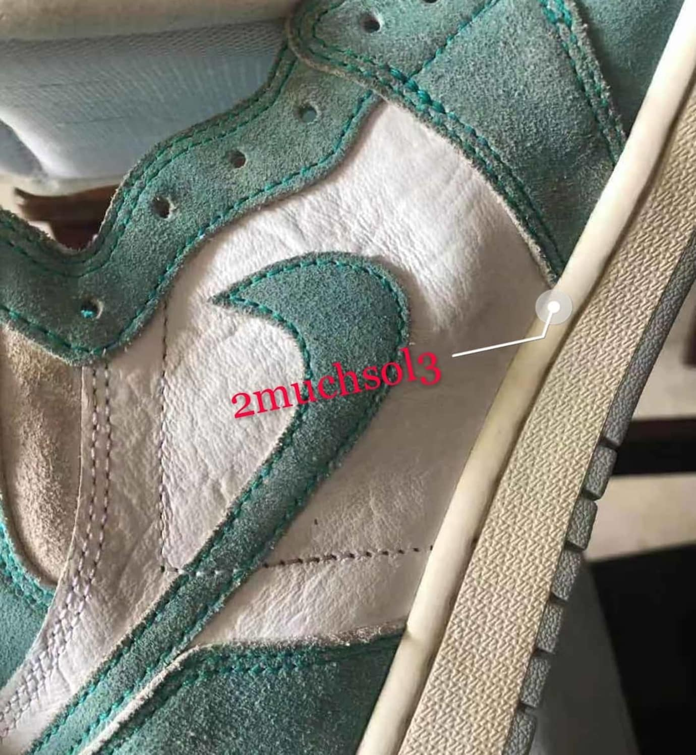 39149ef7f1c air-jordan-1-unc-turbo-green-white-light-smoke-grey-sail-4 - SneakersBR