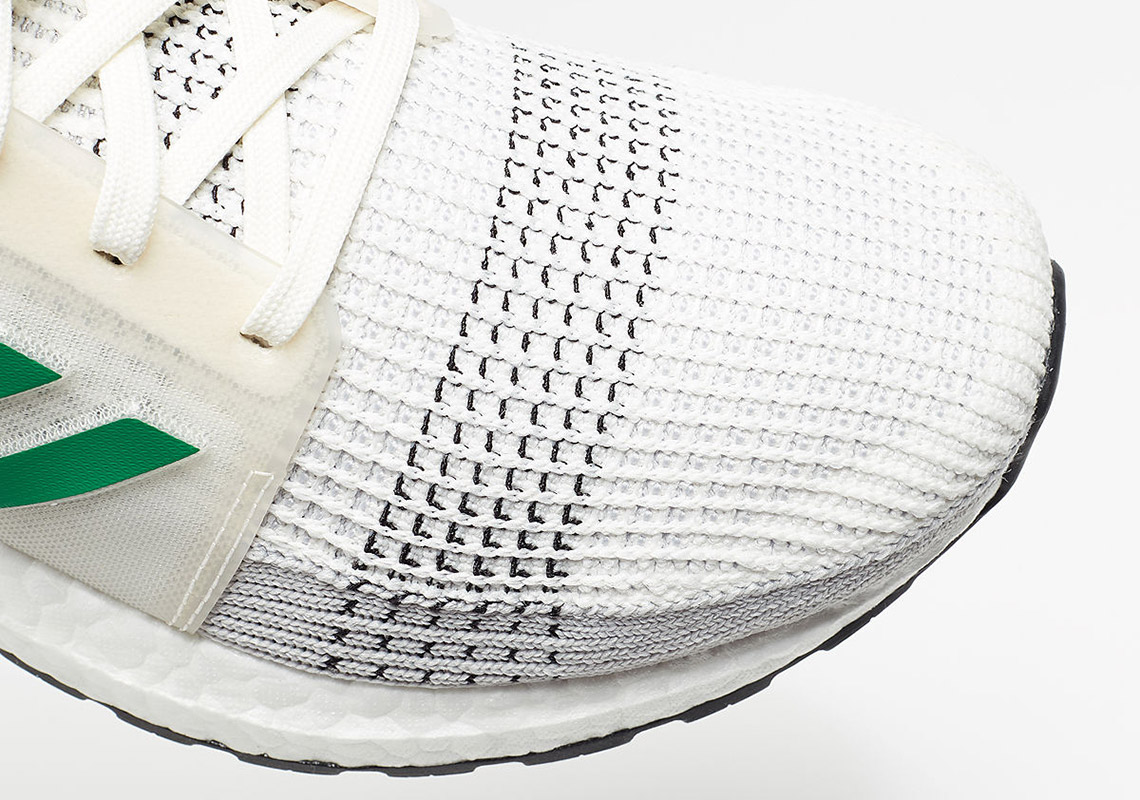 adidas ultra boost 19 white green EE7517 4 SneakersBR
