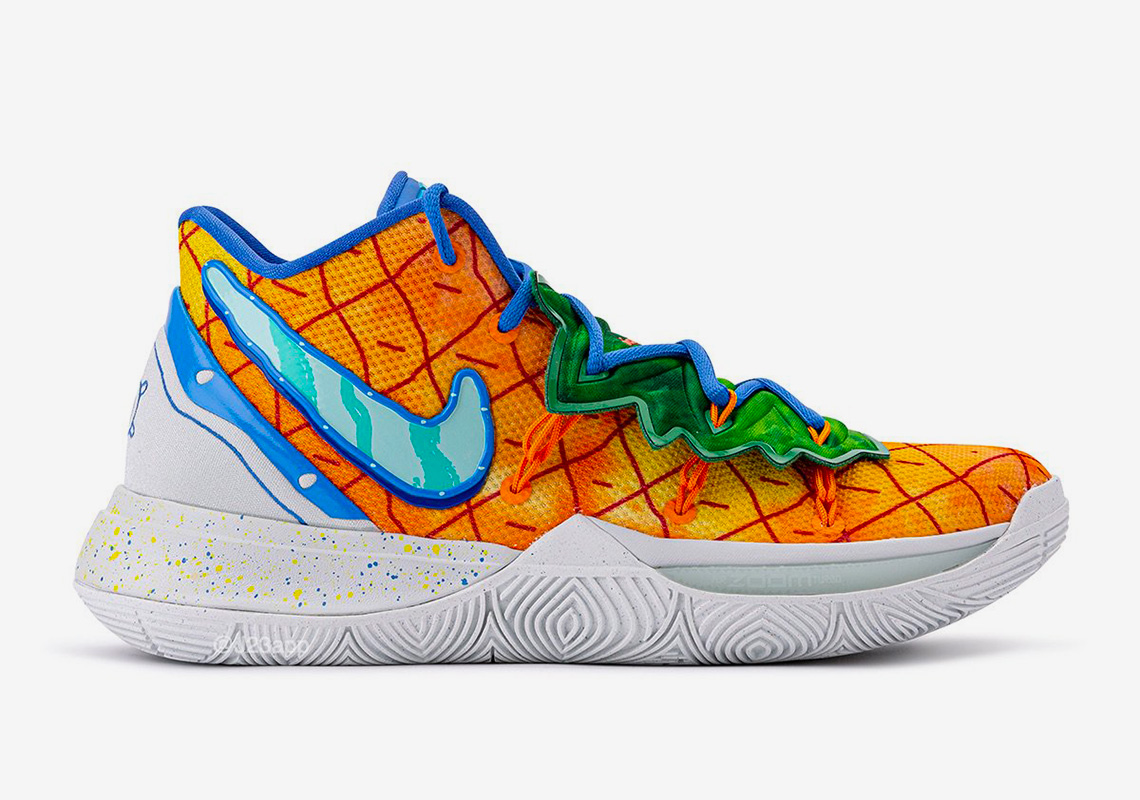 Nike Kyrie 5 Frosted Spruce Aluminum 8