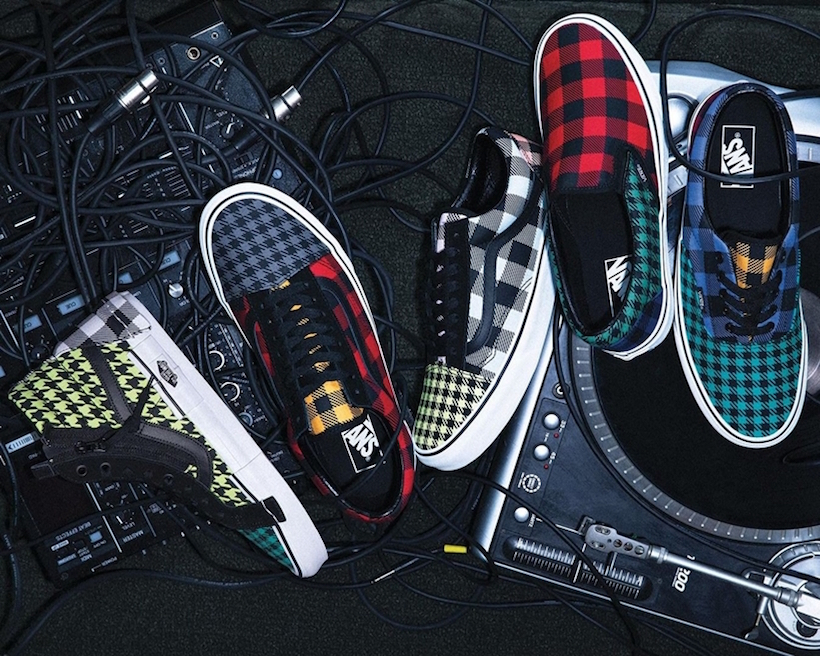 Vans Homenageia A Estampa Xadrez No Pack 'Plaid Is Not Dead'