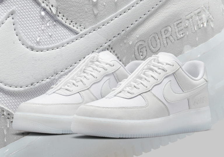 GORE-TEX Volta A Cobrir O Cabedal Do Nike Air Force 1
